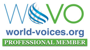 Nils Östergren is a vetted pro member of WoVO - a non-profit, member-driven international association of voice actors.
